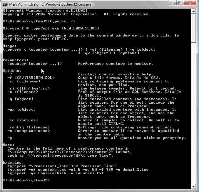TypePerf_Help