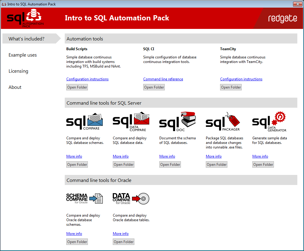 SQL Automation Pack
