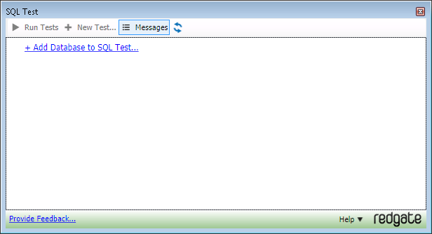 3 SQL Test dialog