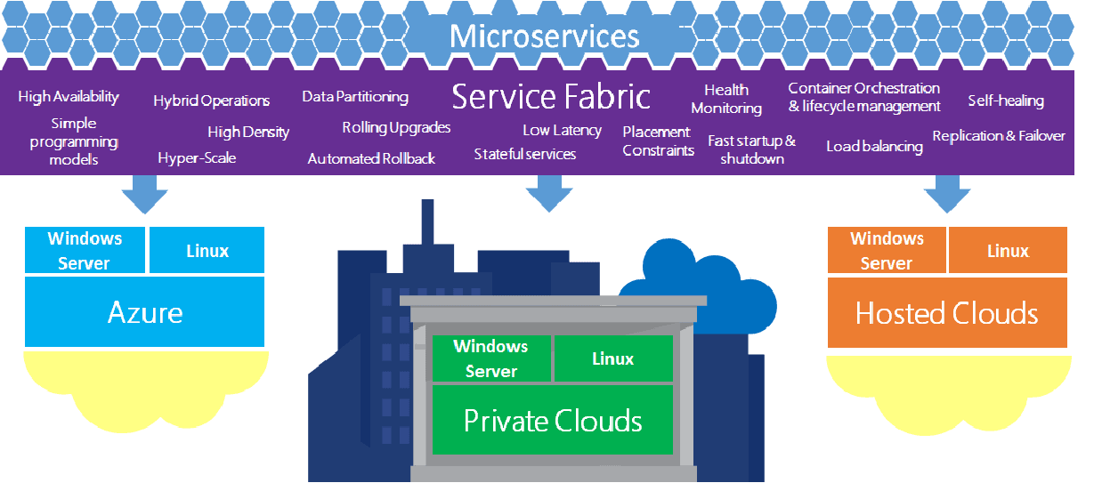Service Fabric platform