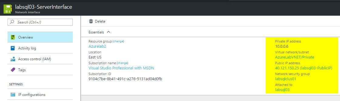 Azure Networking for SQL Server DBAs
