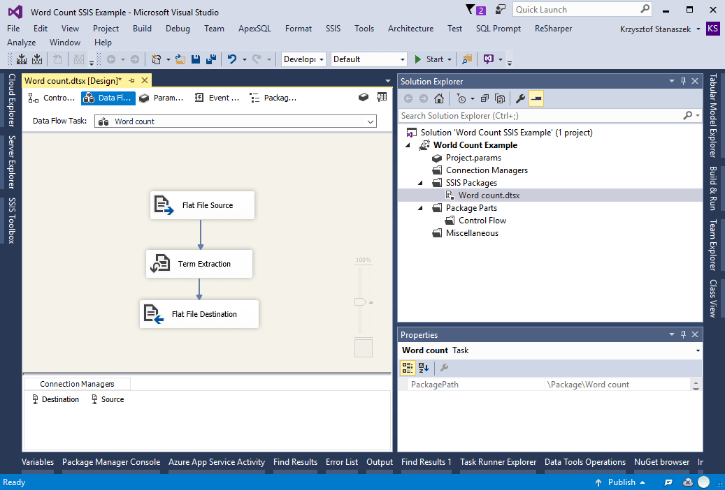 Scala and apache spark in tandem as a next generation etl for Ssis framework template
