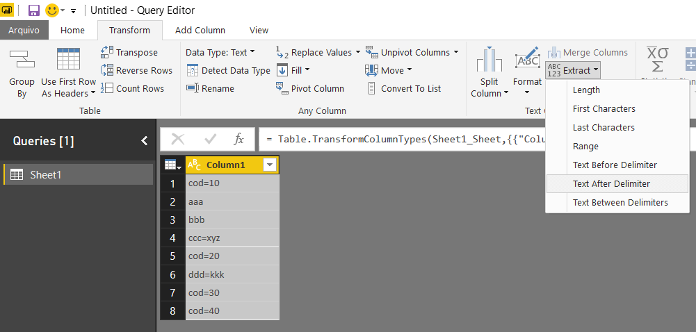 PBIError2 Filtering Errors in PowerBI