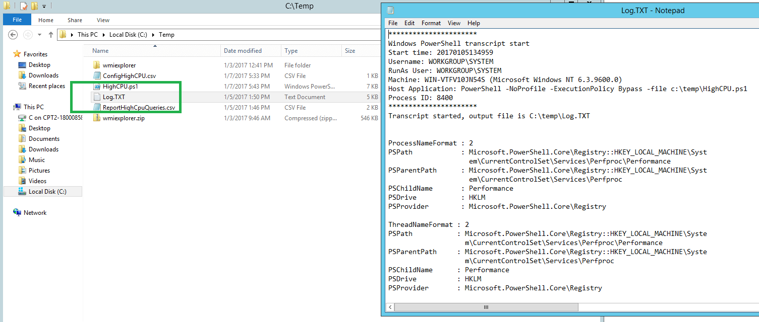 Investigating the Cause of SQL Server High CPU Load Conditions When