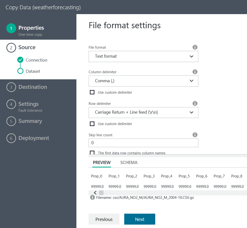 Using the Copy Wizard for the Azure Data Factory - Simple Talk