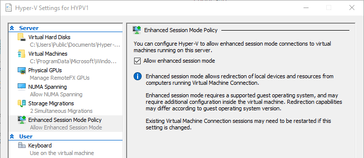 What's New in Microsoft Hyper-V in the Windows 10 Fall Creators