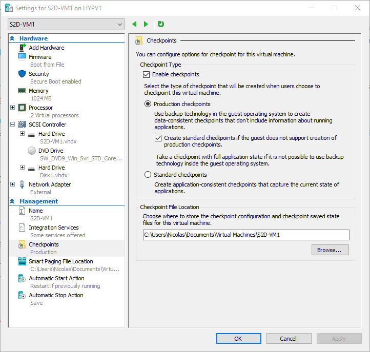 What's New in Microsoft Hyper-V in the Windows 10 Fall