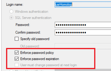Managing the Password of the Application's User - Simple Talk