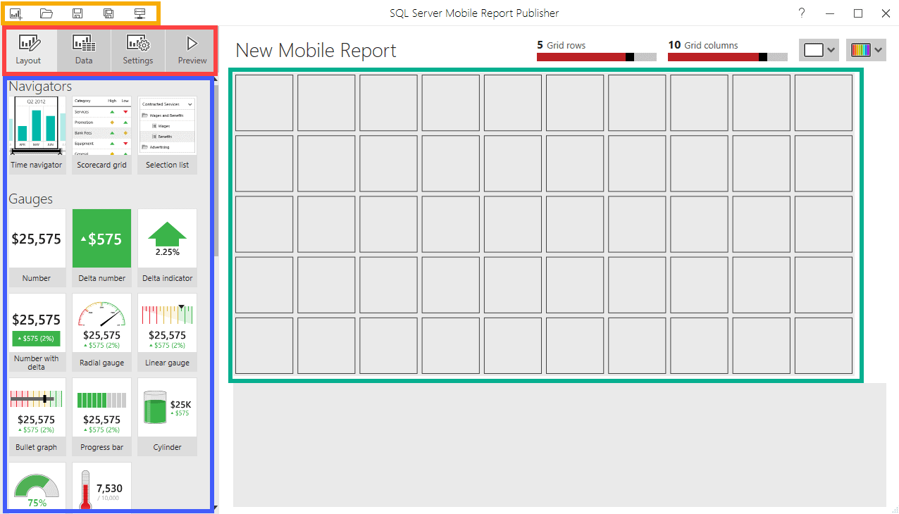 word image 112 Mobile Report Publisher – Dashboards Everywhere