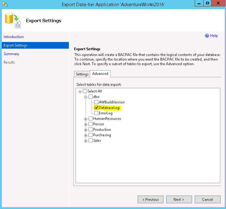 word image 117 Recover Data in SQL Server AWS RDS with the Help of BACPAC