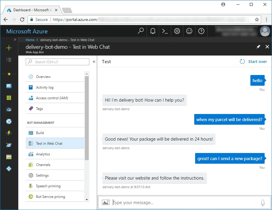 Creating Intelligent Bots Using the Microsoft Bot Framework