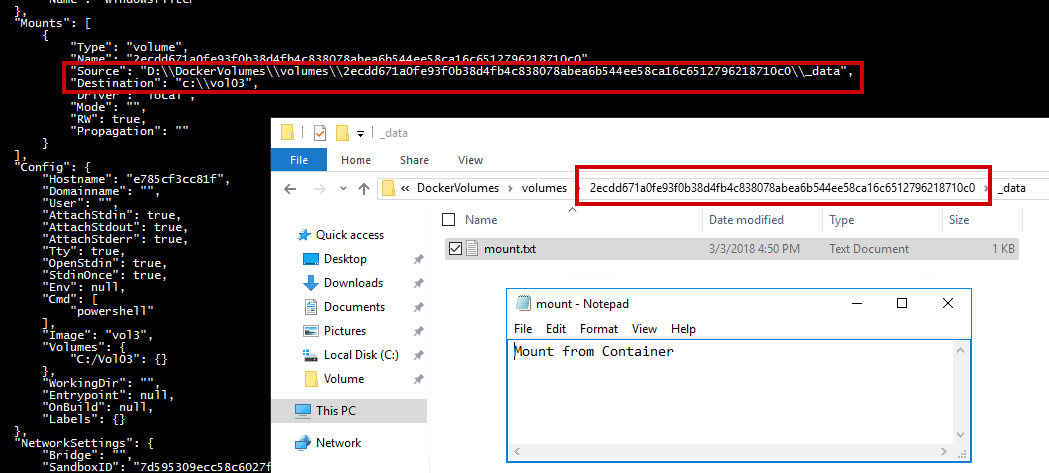 Working with Windows Containers and Docker: Save the Data