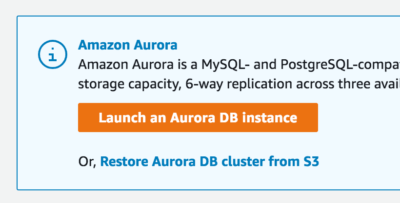 Combining Amazon Aurora, Lambda, and SQS to go Beyond the Native