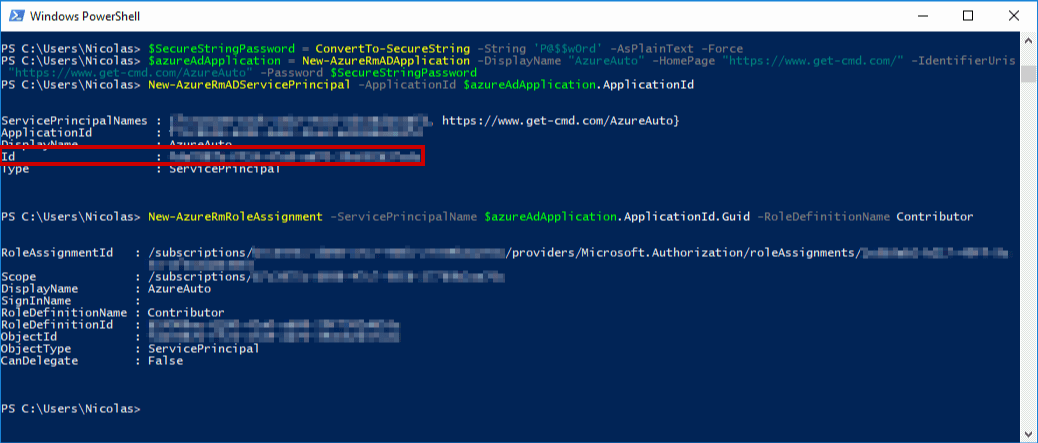 Powershell List Guid