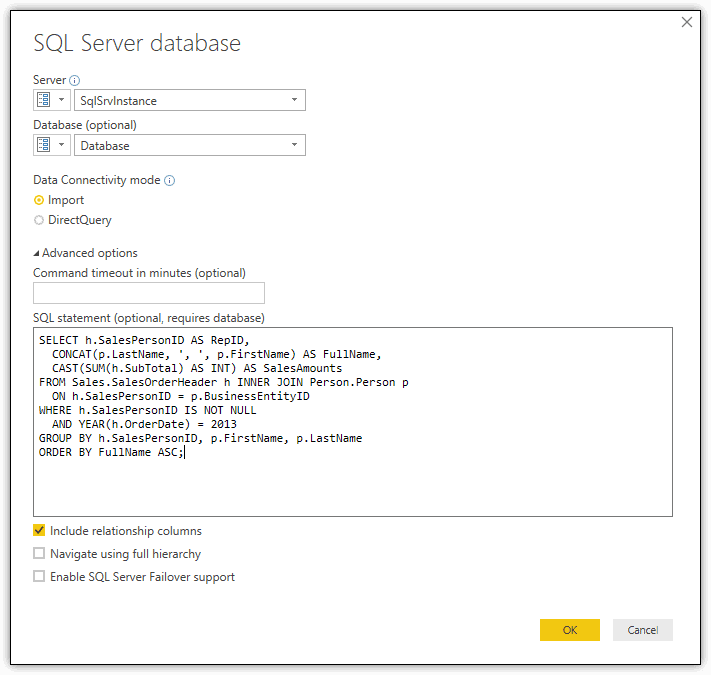 Power BI Introduction: Working with Parameters in Power BI Desktop