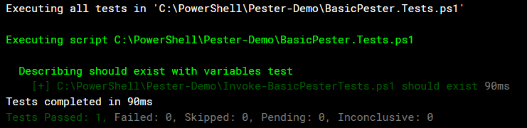 Introduction to Testing Your PowerShell Code with Pester