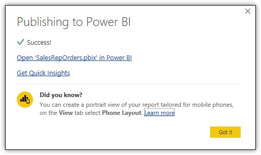 word image 211 Power BI Introduction: Publishing Reports to the Power BI Service — Part 8