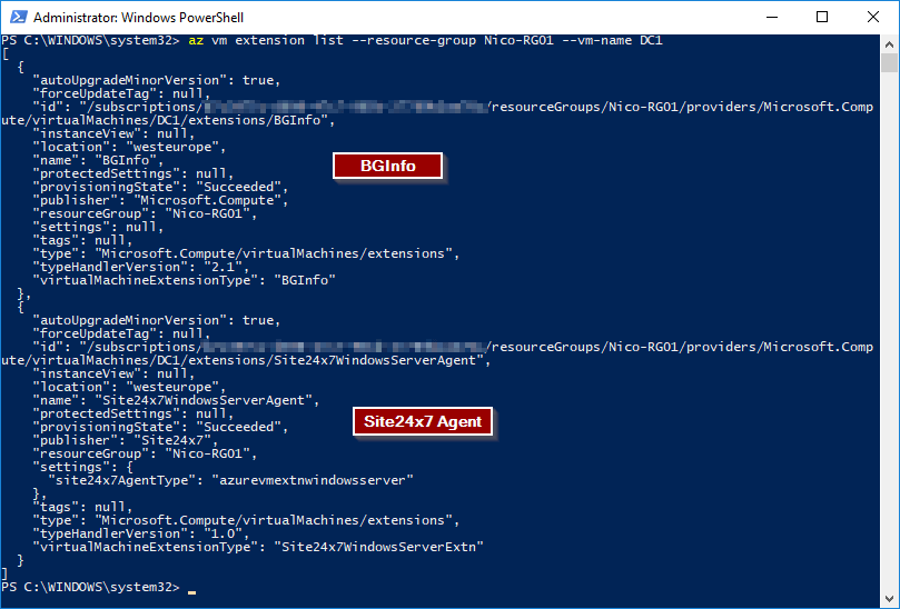 Azure and Windows PowerShell: Using VM Extensions - Simple Talk