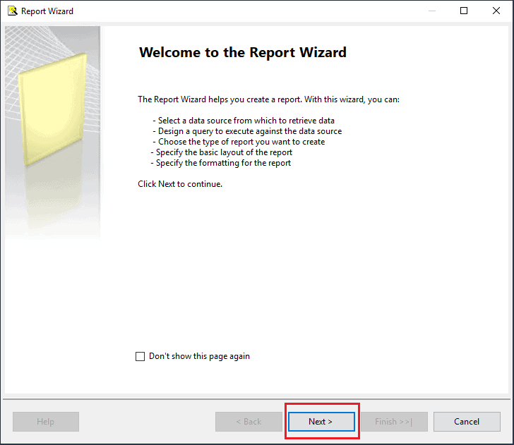 word image 54 Reporting Services Basics: Creating Your First Report