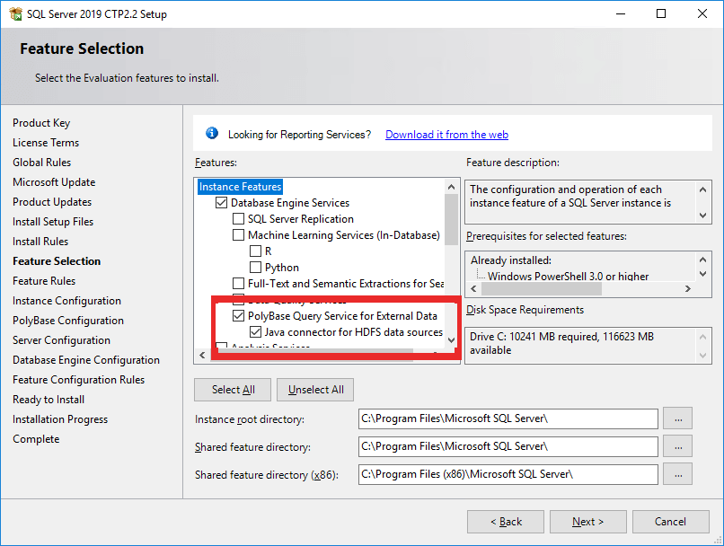 PolyBase in SQL Server 2019 – The End of ETL? - Simple Talk