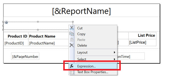 word image 22 Reporting Services Basics: Parameters