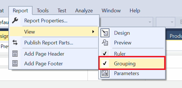 word image 1 Reporting Services Basics: Adding Groups to Reports