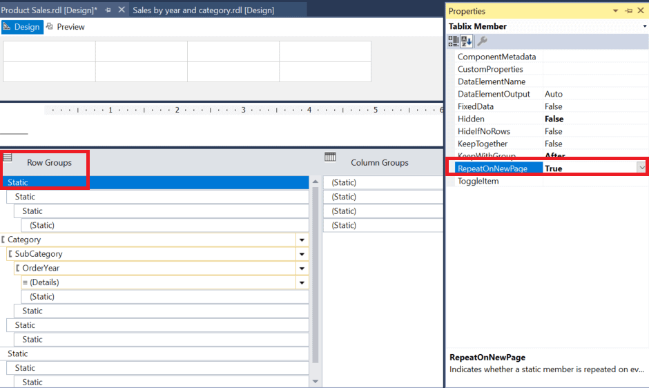 word image 36 Reporting Services Basics: Adding Groups to Reports