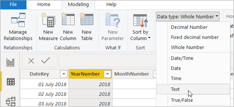 word image 18 Using Calendars and Dates in Power BI