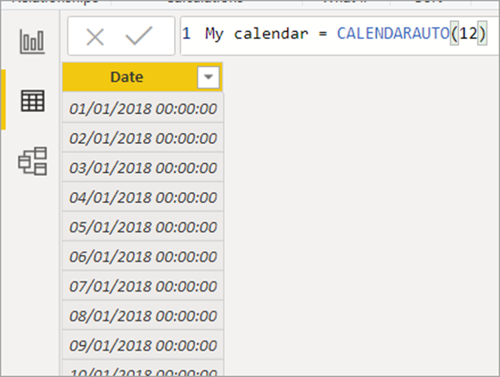 word image 7 Using Calendars and Dates in Power BI