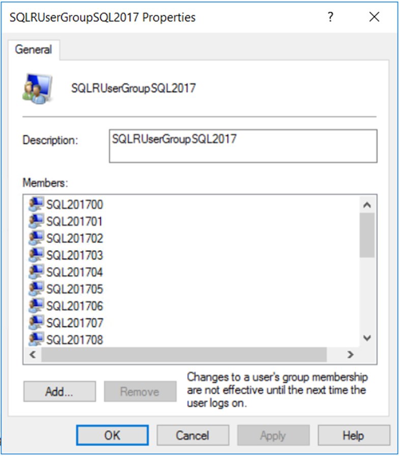 a screenshot of a cell phone description automati 16 SQL Server Machine Learning 2019: Working with Security Changes