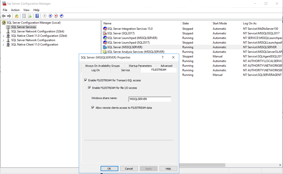 a screenshot of a cell phone description automati 19 SQL Server Machine Learning 2019: Working with Security Changes