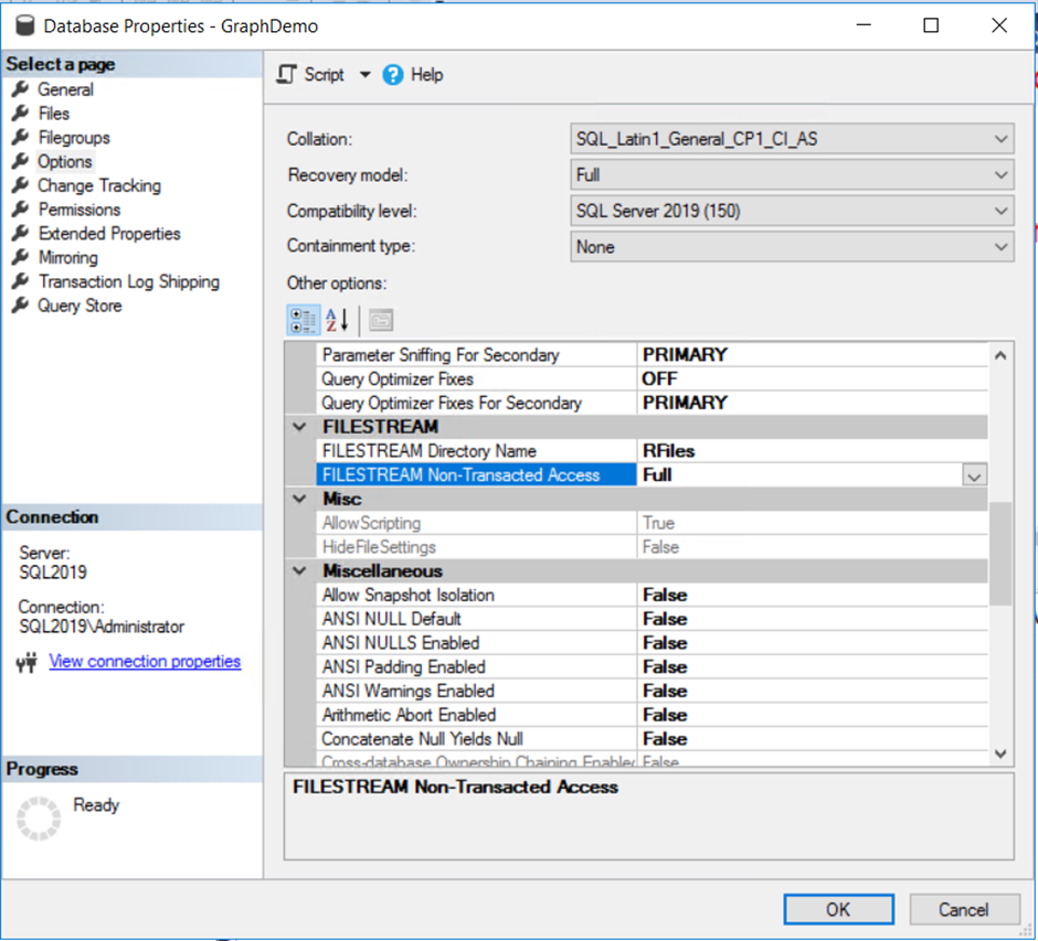 a screenshot of a social media post description a 10 SQL Server Machine Learning 2019: Working with Security Changes