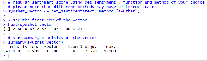 a screenshot of a cell phone description automati 4 Text Mining and Sentiment Analysis: Analysis with R