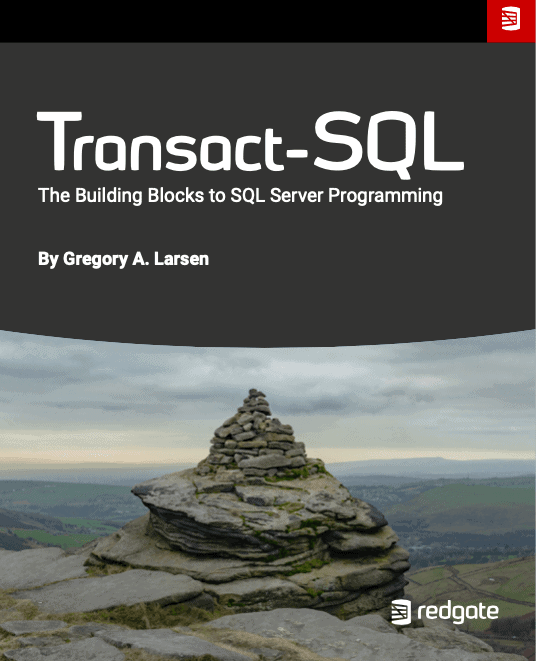 Transact SQL The Building Blocks to Sql Server Programming eBook by Gregory A. Larsen