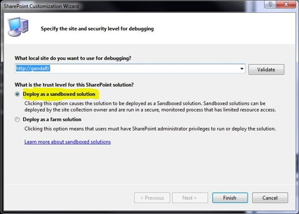 Visual studio 2010 and sharepoint 2010 support at last simple talk 1224 figure2g flashek Images