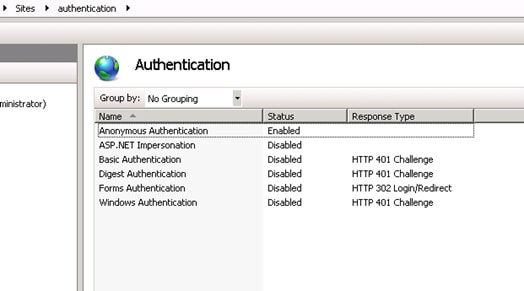 Authentication and Authorization with Windows Accounts in ASP NET