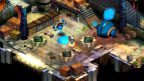 Bastion Gameplay Screenshot