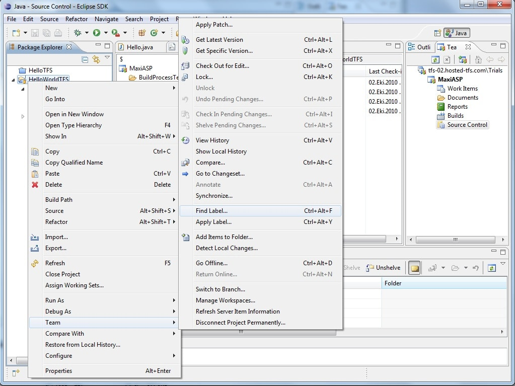 Hosted Team Foundation Server 2010 Review - Simple Talk