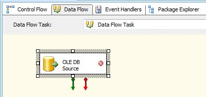 Adding an OLE DB source to your data flow