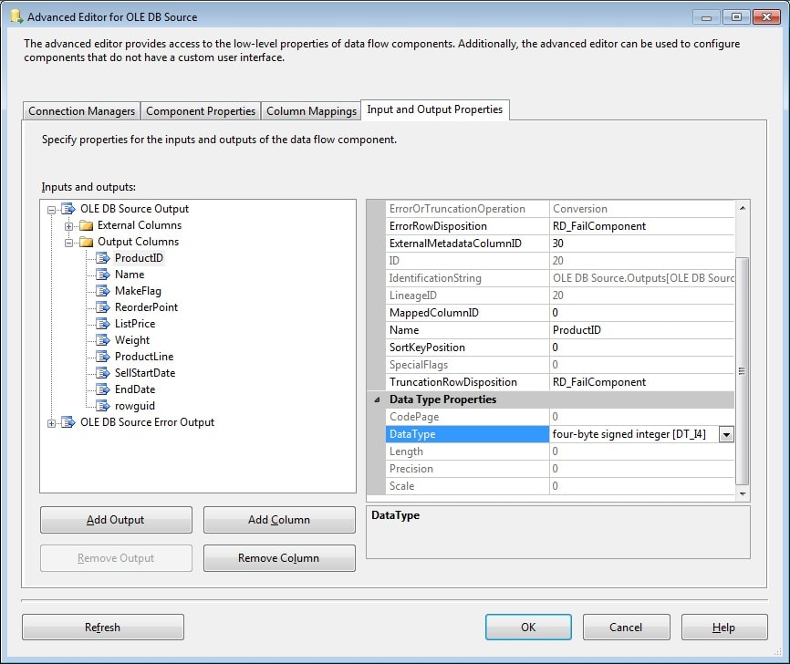 Working with SSIS Data Types - Simple Talk
