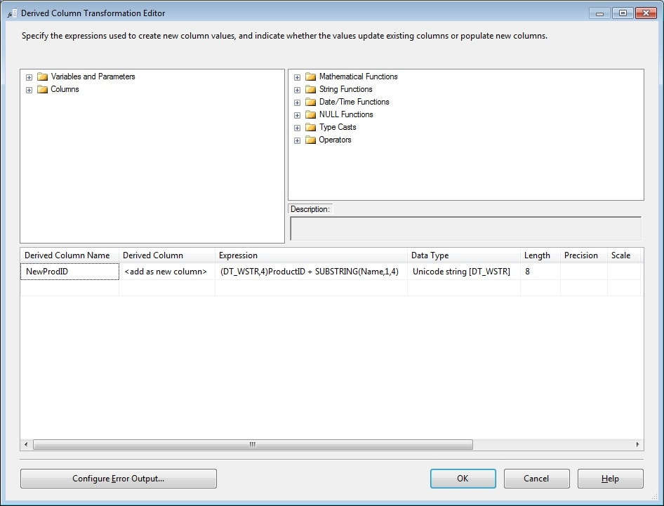 Ssis Convert Int To String