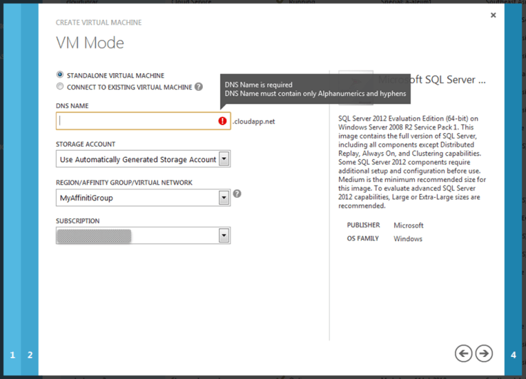 VM Mode Screen