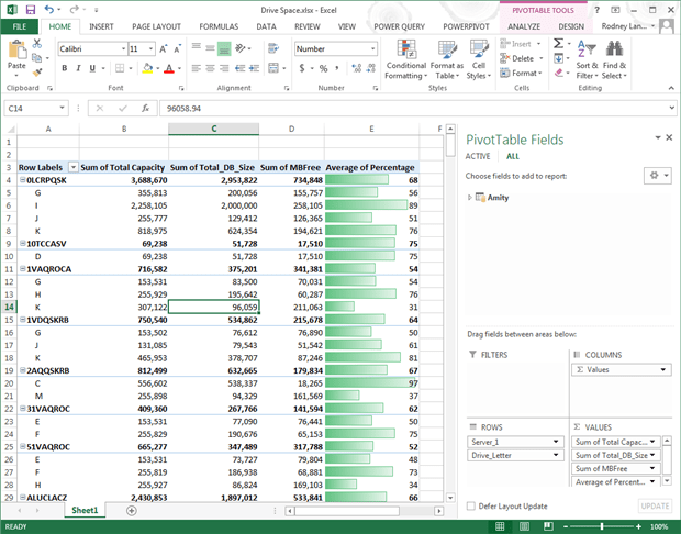 ssrs reports as a data source in excel 2013 simple talk