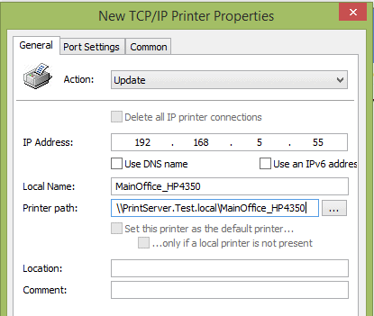 Managing Printers with Group Policy, PowerShell, and Print
