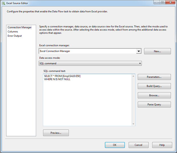 Importing Excel Data into SQL Server Via SSIS: Questions You Were