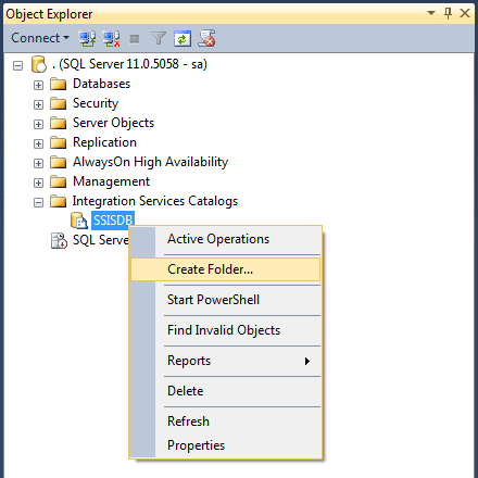 SSIS 2012 Projects: Setup, Project Creation and Deployment - Simple Talk