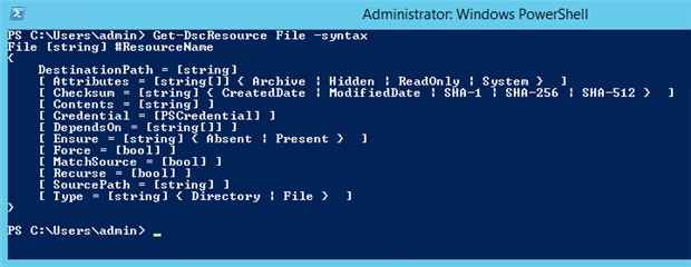PowerShell Desired State Configuration: The Basics - Simple Talk
