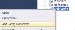 2438 Picture%207 6c52b3e6 cd28 4119 9146 4b2f231374f2 Web.config and Entity Framework Transformation Process
