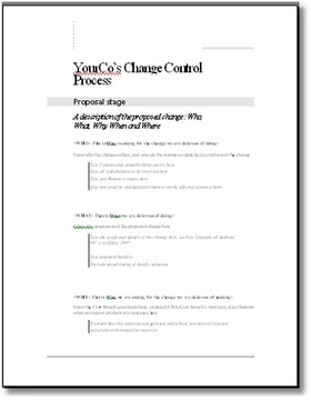 Change management what it is and why you need it simple for Change management process document template