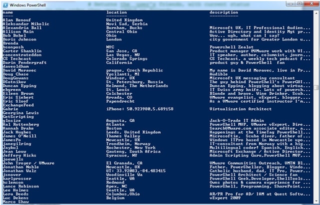 Using Twitter and PowerShell to Find Technical Information